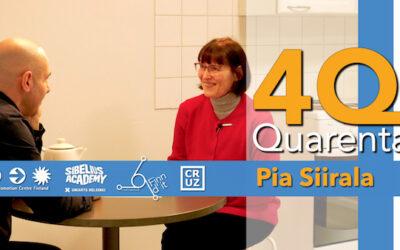 Quarenta Podcast with Pia Siirala